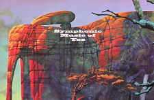Yes 1993 Original Symphonic Music of Yes Promo Poster Original
