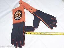 HARLEY DAVIDSON Motorcycles Gauntlet Cuffs Hand Protection Leather Welder Gloves