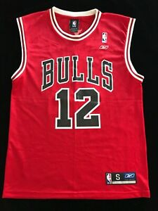 Authentic Chicago Bulls Basketball Jersey Kirk Hinrich #12
