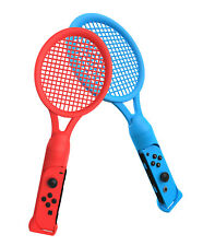 Tennis Racquet / Racket Twin Set Nintendo Switch Joy-Con Controller - Red / Blue