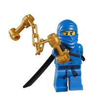 LEGO Ninjago Jay original - Golden Nunchuks & black Katana - Mater of Spinjitzu
