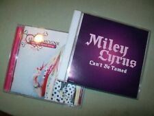 Miley Cyrus / Avril Lavigne PROMO CD LOT The Best Damn Thing