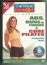 Caribbean Workout 2 Pack - Abs, Buns & Thigh/Core (DVD, 2006, 2-Disc Set)