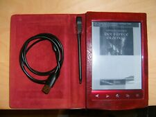 Sony PRS-T2 ebook Reader Rot  DEFEKT