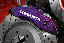 X6 FORD COSWORTH Logo Premium pinza del freno in Vinile Decalcomanie-Adesivi FIESTA