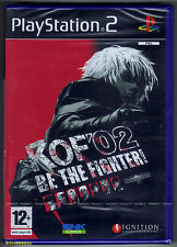 PS2 The King of Fighters 2002, UK Pal, Brand New & Sony Factory Sealed