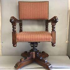 Wallace Nutting Swivel/Tilt Walnut Office Chair
