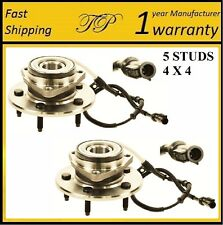 Front Wheel Hub Bearing Assembly for Ford F150  (4X4) 1997-2000 (PAIR)