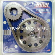 CLOYES 9-3500TX9 STREET BILLET TRUE ROLLER TIMING CHAIN KIT 9 KEYWAY SB CHEVY
