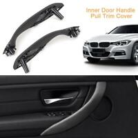 Inner Door Handle Pull Trim Cover Front Left+Right for BMW 3Series F30 F35