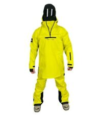 Mountride Anorak Mens Womens Softshell Snowboard Jacket New Yellow Waterproof