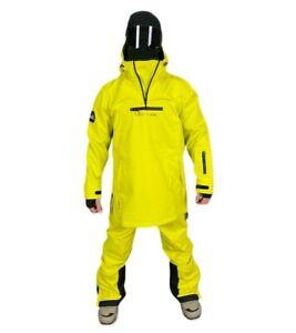 Mountride Anorak Mens Womens Softshell Snowboard Jacket New Yellow Waterproof