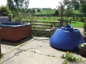 Hot Tub Spa Fast Water Transfer Tank Holiday Home & Service FREE P&P