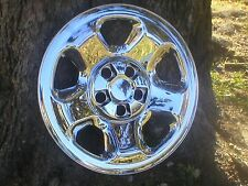 HONDA RIDGELINE CHROME WHEEL SKINS 17 INCH SET OF FOUR FITS STEEL WHEELS