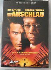 DVD TV Movie Edition 20/07: Der Anschlag (2007) FSK 16 Thriller mit Ben Affleck