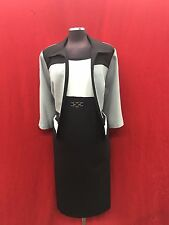 SANDRA DARREN DRESS SUIT/SIZE 16W/PLUS SIZE/LENGTH 41'retail$169/new with tag