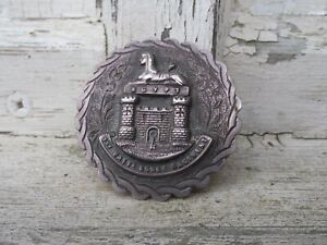 indian colonial silver 1st battalion essex regiment sweetheart badge / brooch