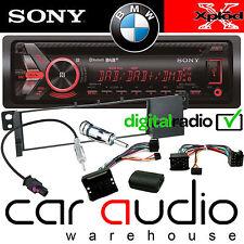 BMW E46 Touring Sony DAB Bluetooth CD MP3 USB Car Stereo & Steering Wheel Kit