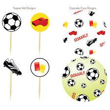 Set decorazione cupcake tema football