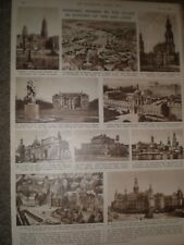 Photo article Wwii Germany views of Dresden 1945 ref Ap