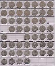 1966 - 2017 10c Collection Australian Ten Cent Coins  (very Nice) Ex 86 87 95 96