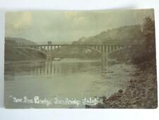 ANTIQUE- JACKFIELD FREE BRIDGE, SHROPSHIRE, RP,1909