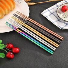 Reusable Korean Chinese Chopsticks Tableware Kitchenware Dine Cutlery Sticks