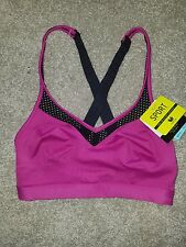 Wacoal Sport Collection Sport Bra 852214  Wirefree  Pink Fuchsia 32 C/D  NWT $55