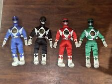 Vintage 16? Mighty Morphin Power Rangers Plush Lot Of 4 Rangers* Green Red More