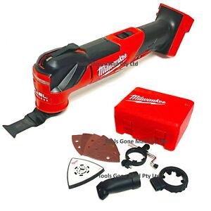 Milwaukee 18V Cordless Multi Tool Fuel Brushless MultiTool &Accessories M18FMT-0