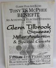 RARE Music Poster for TONY TS McPHEE (Groundhogs) Benefit Concert in London 1994