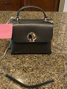 NWT Kate Spade Black Romy Mini Top Handle Handbag Satchel