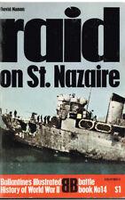 D Day Spearhead of Invasion + Raid on St Nazaire, 2 Ballantine's Battle Books