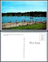 IOWA Postcard - Lake MacBride O38