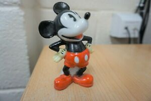 GENUINE ANTIQUE 1930s MICKEY MOUSE TOOTHBRUSH HOLDER