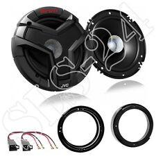 JVC 160mm altavoces VW Fox polo Beetle 230w altavoces anillos LSP adaptador set