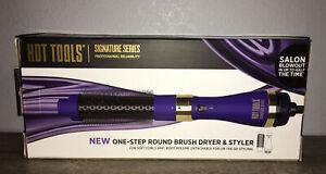 Brand New Hot Tools Signature Series One-Step Round Brush Dryer & Styler