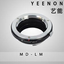 YEENON Minolta MD Mount  to Leica M Mount Adapter (No rangefinder coupled )