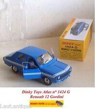 Dinky Toys Atlas n° 1424 G Renault 12 Gordini