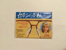 Eyeglasses Anti-Slip Silicone Adhesive stick on Nose Pads Made in Japan CH