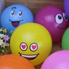 10pcs Latex Balloons Big Eyes Smiley Happy Birthday Party Christmas Decoration