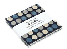 "Moda FABRIC Charm Pack ~ AUBADE: A SONG TO THE DAWN ~ by Janet Clare 5"" squares"