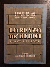 Roberto Palmarocchi - Lorenzo de' Medici - 1941, Utet