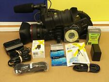 Canon XL H1A 3CCD MiniDV Camcorder with 20X Lens  and Bundle XLH1A