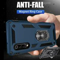 Dual Protection Case Armor Magnetic Stand Cover For Xiaomi 9 SE Redmi Note 7 Pro