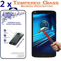 2x For Motorola Droid Turbo 2 [ Tempered Glass ] Screen Protector HD