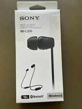 Sony Wireless Stereo Headset Bluetooth  15 Hours Playtime New open box $34 MRSP