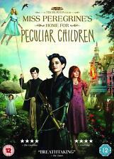 Miss Peregrines Home for Peculiar Children DVD R2 Tim Burton