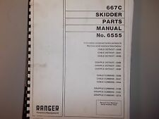 Ranger 667C Skidder Parts  Manual  6555