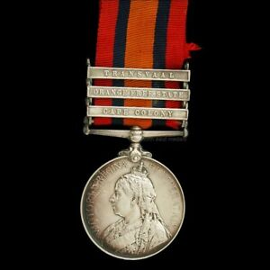 Queen's South Africa Medal, Private Marsden, King's Own Yorkshire Light Infantry